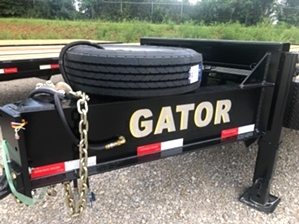 30ft Equipment Trailer with Air Brakes 30ft Equipment Trailer with Air Brakes. Equipment trailer with air brakes and spare tire. 30ft long.