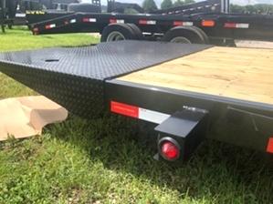 Tilt Bed 14k Equipment Trailer For Sale