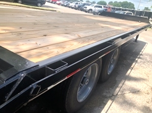 Flatbed Equipment Trailer For Sale