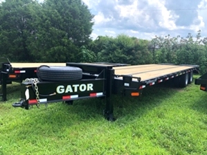 Equipment Trailer 30ft Air Brakes  Equipment Trailer 30ft Air Brakes. Pintle with spare tire