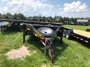 Equipment Tilt Bed Trailer 14k