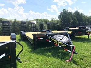 Gator Equipment Trailer 14k For Sale Gator Equipment Trailer 14k For Sale. 18+2 equipment aardvark trailer with stand up ramps