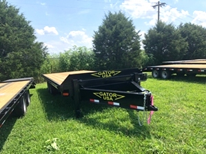 Equipment Trailer Flatbed 20ft Equipment Trailer Flatbed 20ft. Bumper pull with slide under ramps