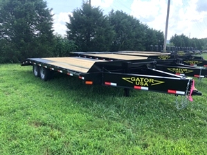 Equipment Trailer Low Pro For Sale  Equipment Trailer Low Pro For Sale. Low profile style flatbed with slide under ramps