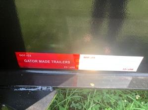 Equipment Trailer 16k For Sale