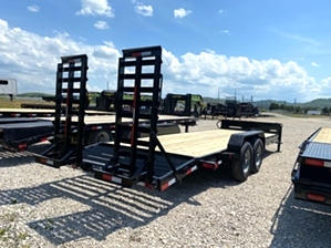Equipment Trailer 20ft 14000 pound Equipment Trailer 20ft 14000 pound. Tube frame, dexter axles,  16in tires
