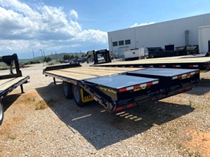 Equipment Trailer 25 flat bed By Gator Equipment Trailer 25 flat bed By Gator. 10,000 pound dexter dual tandem axles, 14in extreme duty I-Beam main frame.