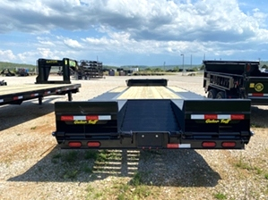 Equipment Trailer Aardvark 16k Equipment Trailer Aardvark 16k. Unique aardvark neck design, dual jacks, spare tire, pierced frame.