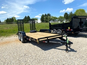 Equipment Trailer Cheap  Equipment Trailer Cheap. Heavy duty low profile design, extra wide loading ramps set, dexter axles, heavy duty fenders, and 16in tires.