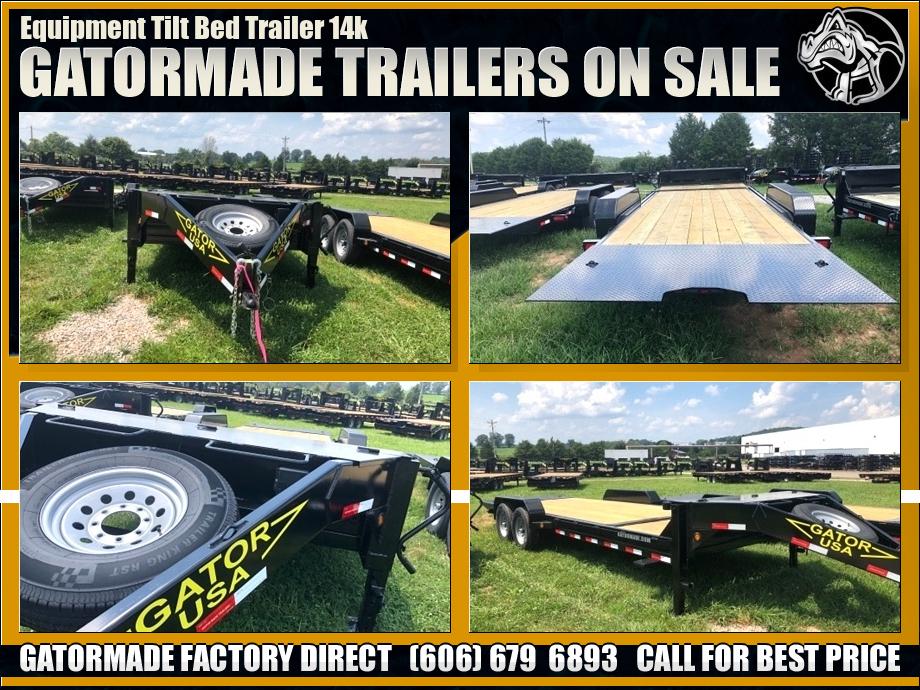 Image Equipment Trailers Tilt Bed